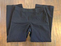 Ann Taylor Womens Black Dress Pants Size 10P #AnnTaylor #DressPants