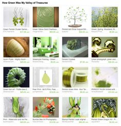 Etsytreasury time whimsical gift ideas include sage green and gorgeous gift ideas from how green was my valley of treasures include negle Gallery