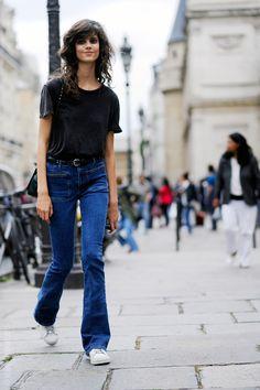 Denim . denim fashion, and denim street style.
