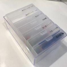 【セリア】クリアケースとカードケースを使ってお薬をすっきり収納
