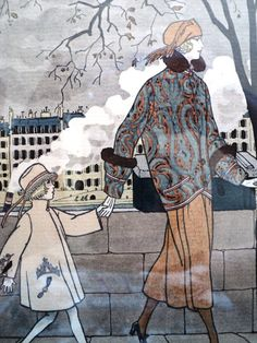 """Art Deco """"Gazette du Bon Ton"""" Fall 1921"""