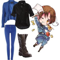 """Hetalia Italy!!"" by stephihunt on Polyvore"