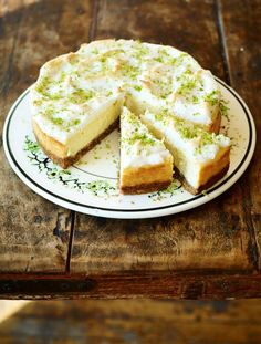 New York Cheesecake | Cheese Recipes | Jamie Oliver Recipes