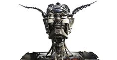 Artist Turns Old Typewriter Parts Into Life-Size Human And Animal Sculptures