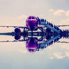 #Airport #Gdansk #AirportGdansk #Airplane #Plane #WizzAir #Passengers