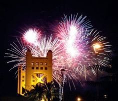 best places for 4th of july fireworks