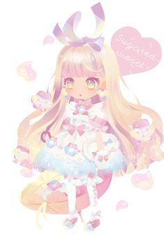 ファンタジアティードリーム 第2弾|@games -アットゲームズ- Kawaii Chibi, Cute Chibi, Kawaii Art, Anime Chibi, Chibi Characters, Girls Characters, Chibi Girl, Cocoppa Play, Pretty Wallpapers