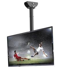 Loctek CM1 Adjustable Tilting Wall Ceiling TV Mount Fits ...