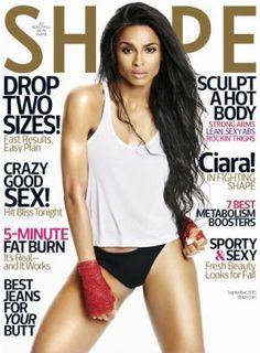 """Confira a sessão de fotos de Ciara para a revista """"Shape"""" #Cantora, #Dieta, #Fotos, #Novo, #Single http://popzone.tv/confira-a-sessao-de-fotos-de-ciara-para-a-revista-shape/"""