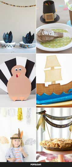 19 Cool Thanksgiving Crafts For Kids