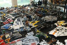 Hmmm.  Not enough Star Wars LEGO.