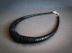Ketten kurz - tolle Kette aus Horn - ein Designerstück von Merkisa bei DaWanda Etsy, Bracelets, Men, Accessories, Jewelry, Fashion, Chains, Neck Chain, Amazing