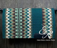 Saddle Pads, Show Horses, All Design, Horse Stuff, Make It Yourself, Blanket, Wool, Ponies, Evergreen