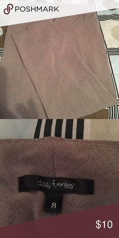 Tan dress pants size 8 Tan dress pants size 8. Smoke Free home Daisy Fuentes Pants Trousers