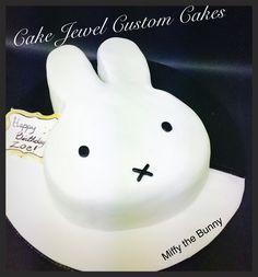 Miffy the Bunny Chocolate and ganache cake