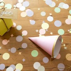 Confetti rond Pastel