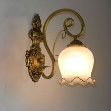 European Living Room Wall Lamp Vintage Iron Bedsides Wall Lamp Hallway Wall Lamp iron wall lamp,glass wall lamp,bedsides wall lamp,bedroom wall lamp,hallway wall lamp