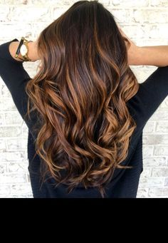 Image result for long rich brown hair