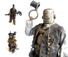 Steampunk dude, quite dapper!