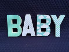BABY by Ribbonnthreads on Etsy