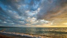 Ontario, Canada, Celestial, Sunset, Beach, Water, Travel, Outdoor, Gripe Water