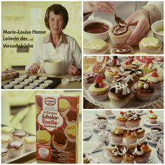 """""""Sie füllen den angerührten Teich in die Förmchen ..."""" 1975 erschien unsere erste Törtchen-Backmischung - heute kennt und liebt sie jeder als #Muffins. Oetker Firmenarchiv (OeFA) // #OetkerHistory #Backen Muffins, Cereal, Memories, Breakfast, Food, Youtube, Pies, Bakken, Recipes"""