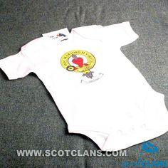 Logan Clan Crest Baby Bodysuit
