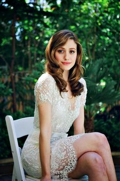 Emmy Rossum! I love her! And this dress just looks amazing on her! (Like anything else)
