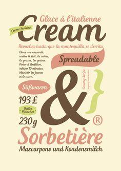 Creamy Script by T-26