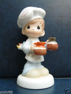 Bi Precious Moments Waiter RARE Chapel Exclusive | eBay
