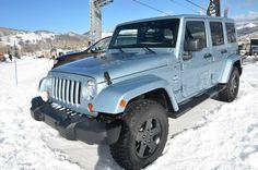 Jeep Artic Edition in Winter Chill