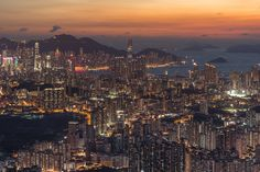"""Edge of Hongkong city"" by Coolbiere. A."