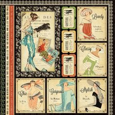 """The front page of """"Beautiful"""" from our new 2013 Fall Mid-Release Collection: Couture! #graphic45 #newcollections:"""
