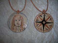 Keramik-Amulette, D ca. 6 cm, Glasurmalerei aus Heidruns Händen, www.heidrun-jantos.de