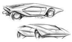 Lancia Stratos Zero skt