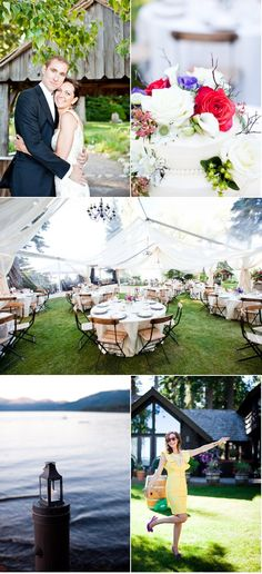 Kate Webber Photography - Beautiful Tahoe Wedding. Love the tent!!!