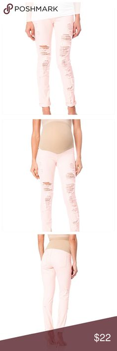 A Pea in the pod new light pink maternity pants Beautiful new maternity pants Pants Ankle & Cropped