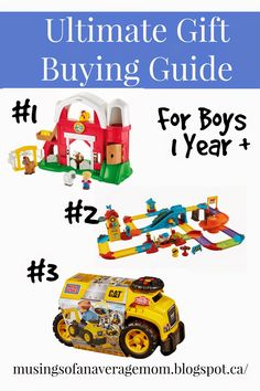 Ultimate Gift Buying Guide: Perfect Gift Ideas for One Year Old Boys