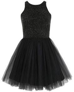 Prom 2012: Miss Selfridge black tulle dress - Flare.com
