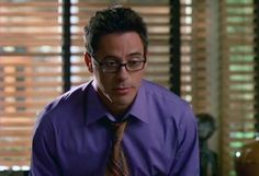 "Robert Downer Jr, when he was on Ally McBeal. To quote Ally: ""He's just so...yummy."""