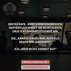 Erstes Date #derneuemann #humor #lustig #spaß