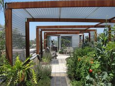 Home Design Arkhouse Los Angeles Dwell House Tour Veggie Garden Rooftop
