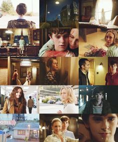 Bates Motel: and Norma wanted to start over in White Pine :(