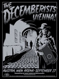 Date: Aug 2007 Performers: The Decemberists Venue: Wien Arena, Vienna Austria Designer: Greg Stainboy Reinel Dimensions: Editon: ? Festival Posters, Concert Posters, Music Posters, Pop Rocks, The Decemberists, Music Illustration, Old Comics, Music Images, Rock Posters