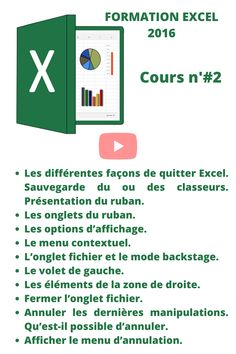 Microsoft Excel, Menu Contextuel, Gauche, Good To Know, Facebook, Education, Words, Computer Backgrounds, Office Automation