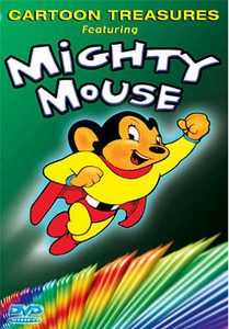 Link Mighty Mouse to Global Thinking and who knows? You might save the world! Old Cartoons, Classic Cartoons, Old Tv Shows, Kids Shows, Global Thinking, Mighty Mouse, Marvin The Martian, Saturday Morning Cartoons, Music Tv