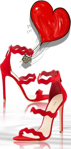 red Prada heels for a sexy Valentine's Day outfit or to wear with Oh La La Cheri lingerie | The House of Beccaria