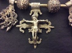 """Christianity declined among early Christians in Africa in Ethiopia... Very soon on my website www.halter-ethnic.com under my item """" Lucky Finds""""...Astonishing work on silver!"""