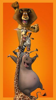 Dreamworks Movies, Dreamworks Animation, Cartoon Movies, Disney Movies, Disney Phone Wallpaper, Funny Phone Wallpaper, Cartoon Wallpaper, Madagascar Movie, Penguins Of Madagascar