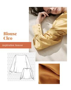 Blouse, Textiles, Sewing, Pattern, Inspiration, Big Sizes, Ideas, Clothing, Patron Robe